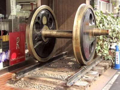 機関車の動輪